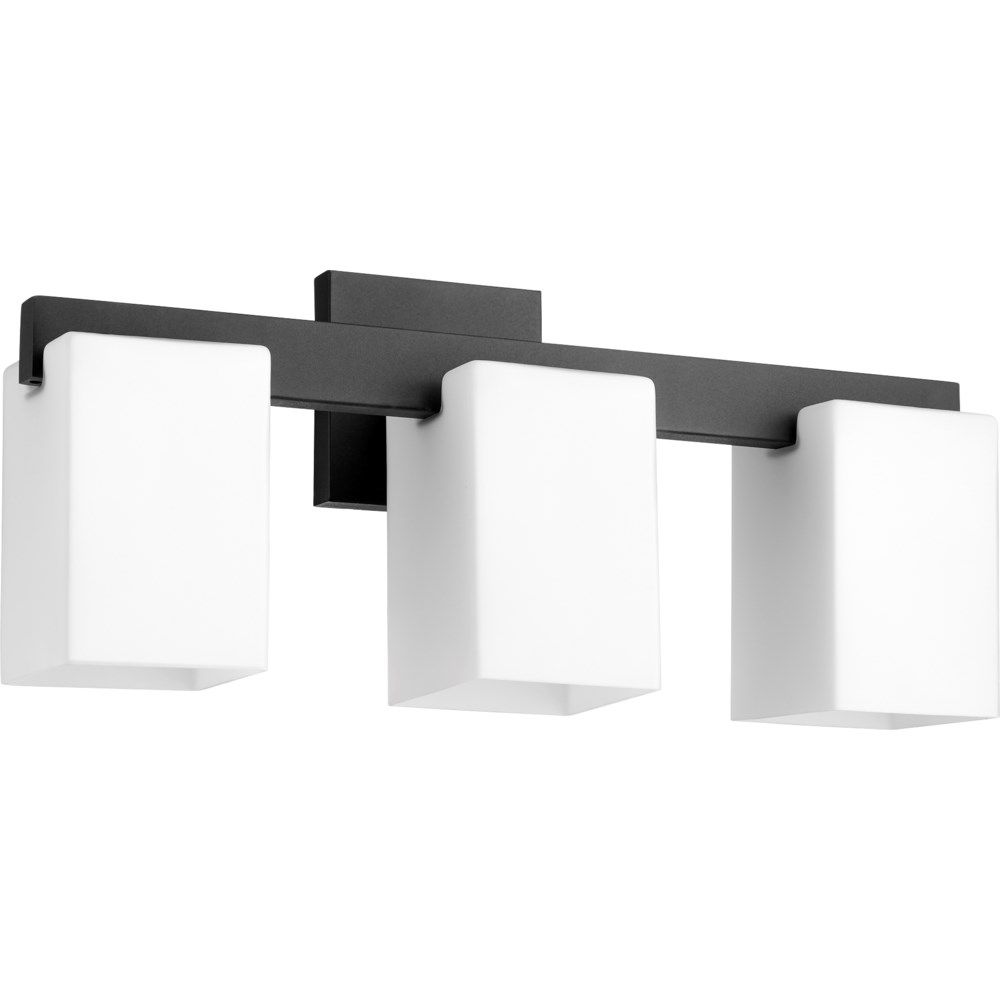 Modus 3 Light Modern and Contemporary Black Vanity