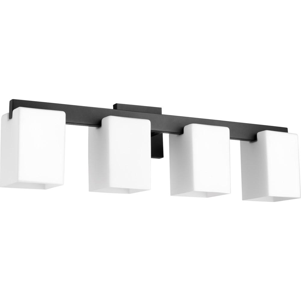 Modus 4 Light Modern and Contemporary Black Vanity