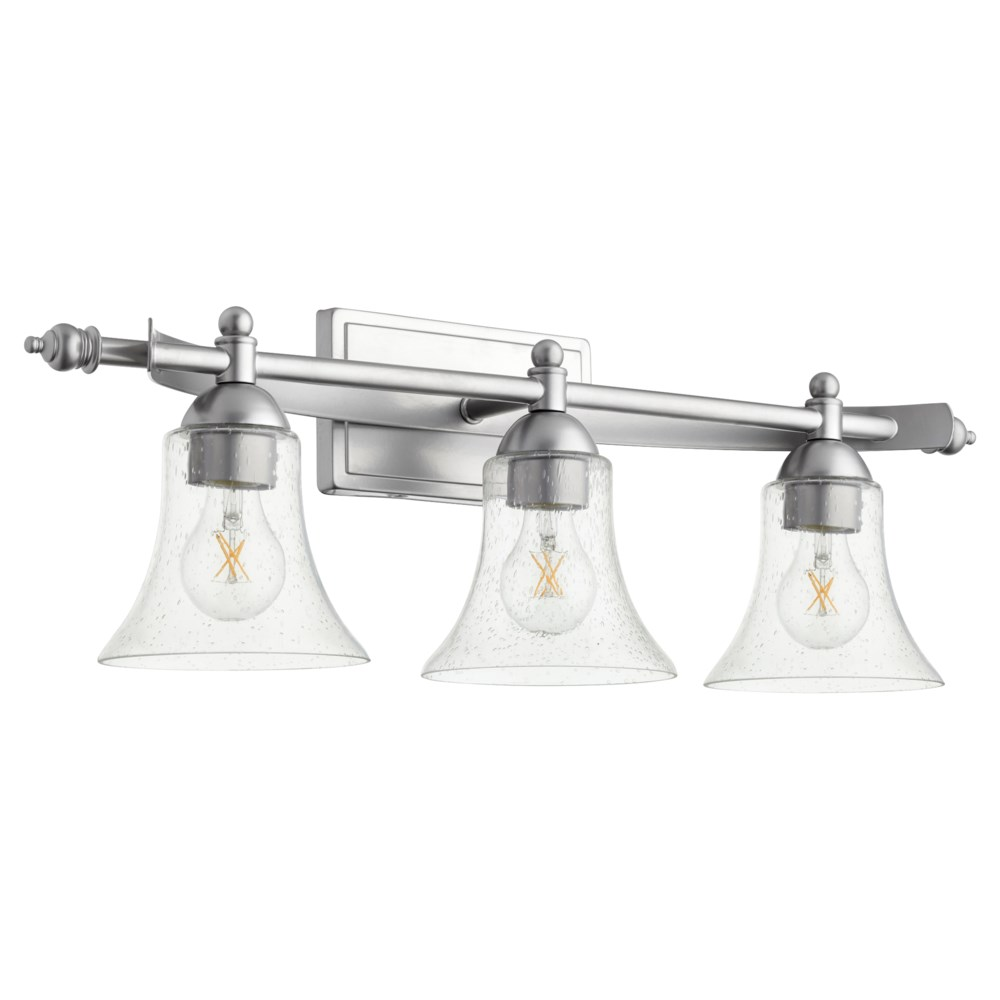 Aspen 3 Light Transitional Classic Nickel Vanity