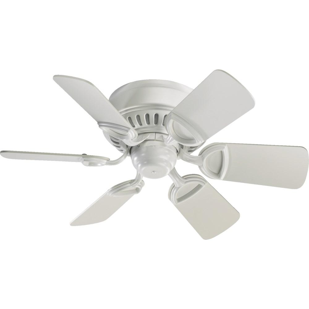 Medallion 30-in 6 Blade Studio White Traditional Ceiling Fan
