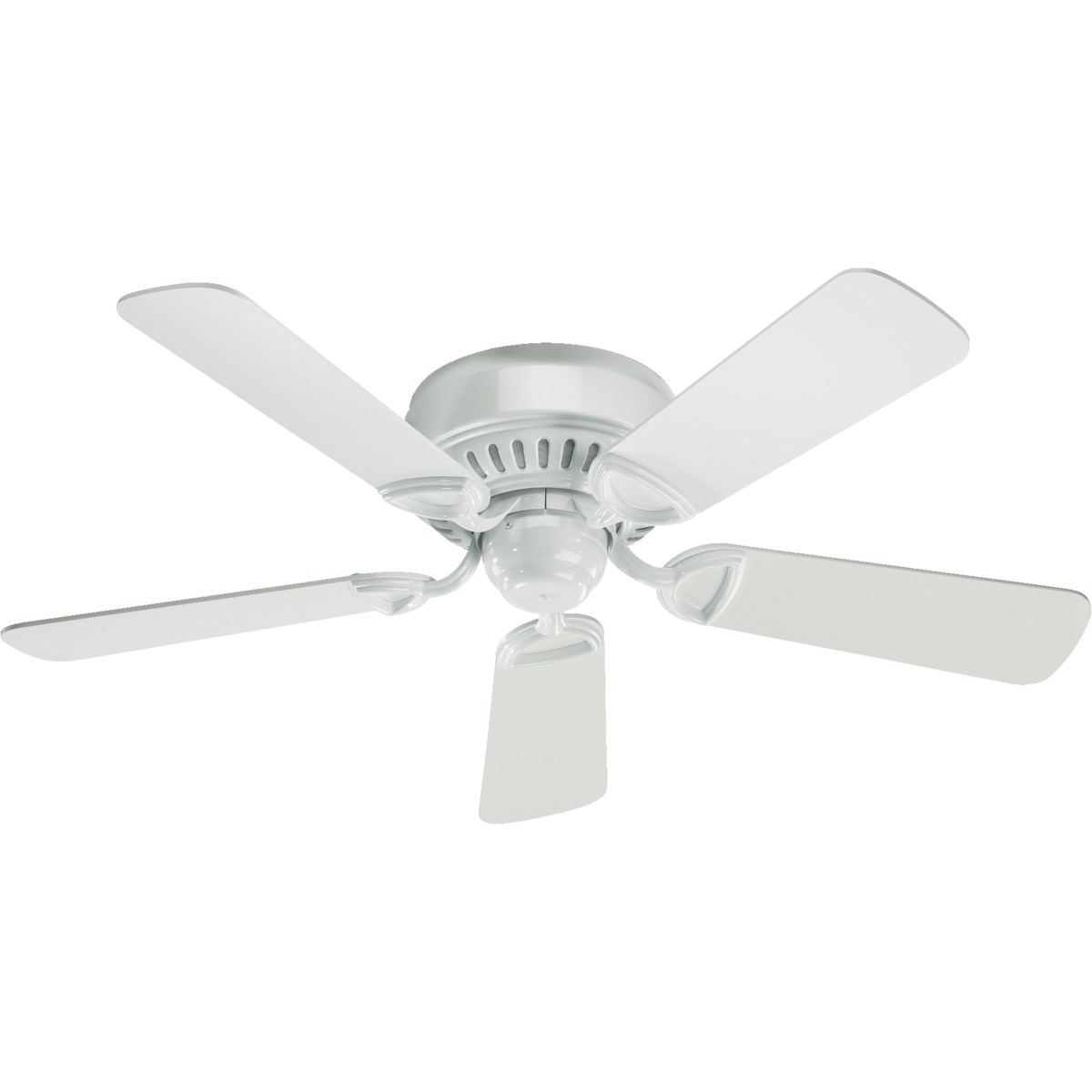 Medallion 42-in 5 Blade White Traditional Ceiling Fan