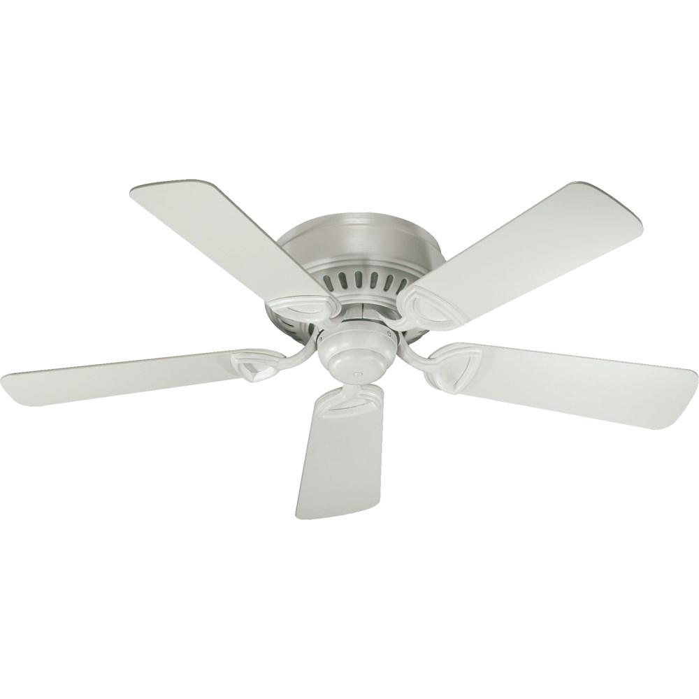 Medallion 42-in 5 Blade Studio White Traditional Ceiling Fan