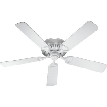 Medallion 52-in 5 Blade White Traditional Ceiling Fan