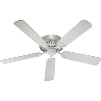 Medallion 52-in 5 Blade Studio White Traditional Ceiling Fan