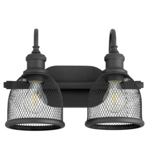 Omni 2 Light Industrial Black Vanity