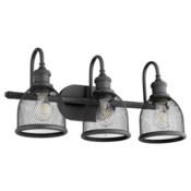 Omni 3 Light Industrial Black Vanity