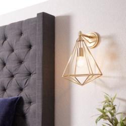 Bennett 1 Light Transitional Aged Brass Wall Sconce