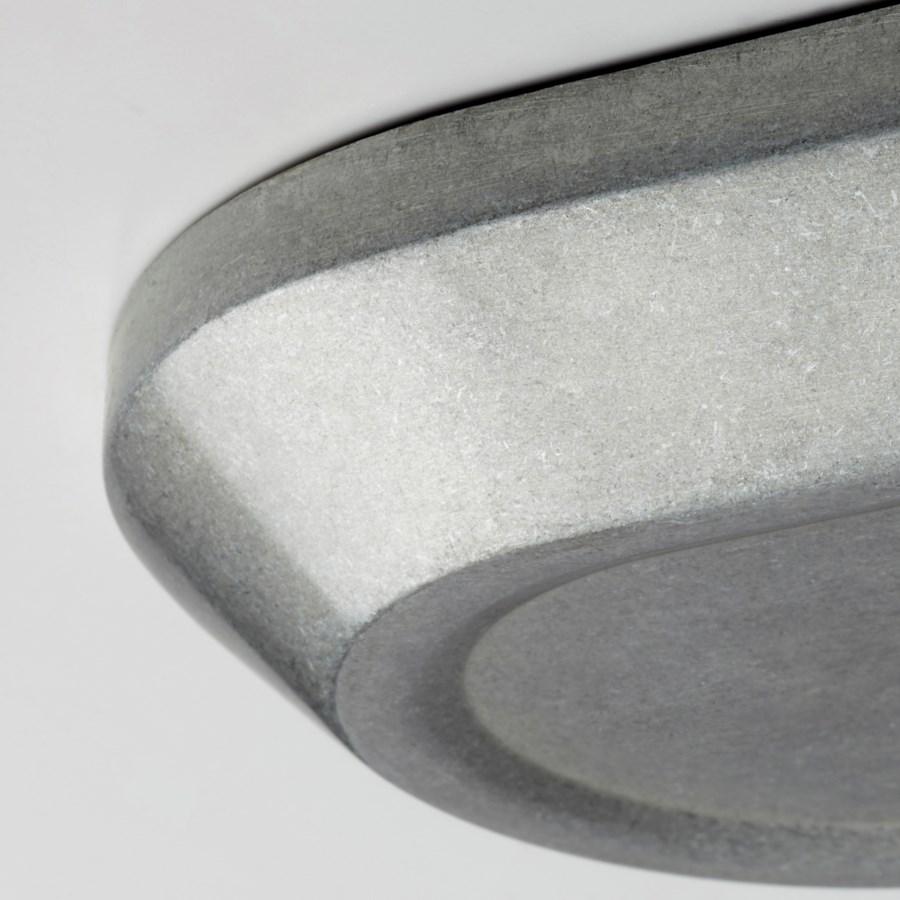 Ellis 3 Light Transitional Tumbled Steel Vanity