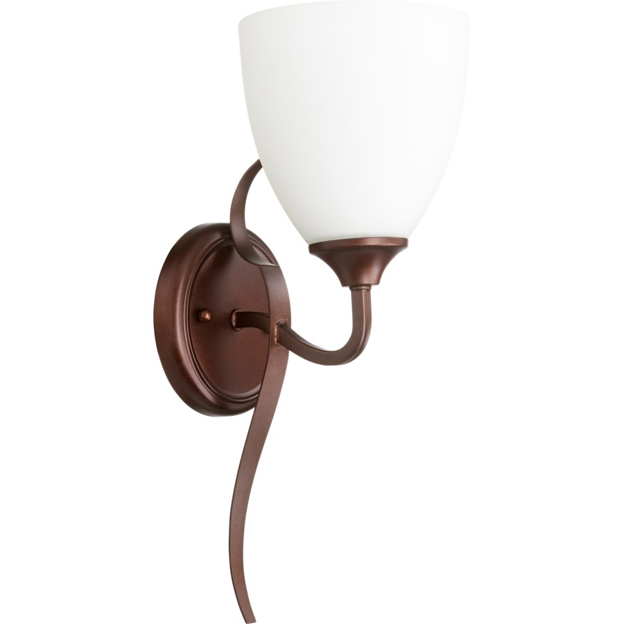 Jardin 1 Light Transitional Oiled Bronze Wall Sconce