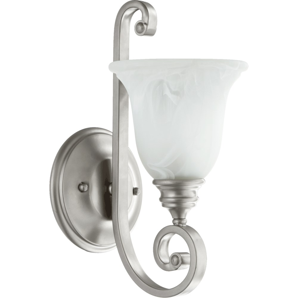 Bryant 1 Light Traditional Classic Nickel Wall Sconce