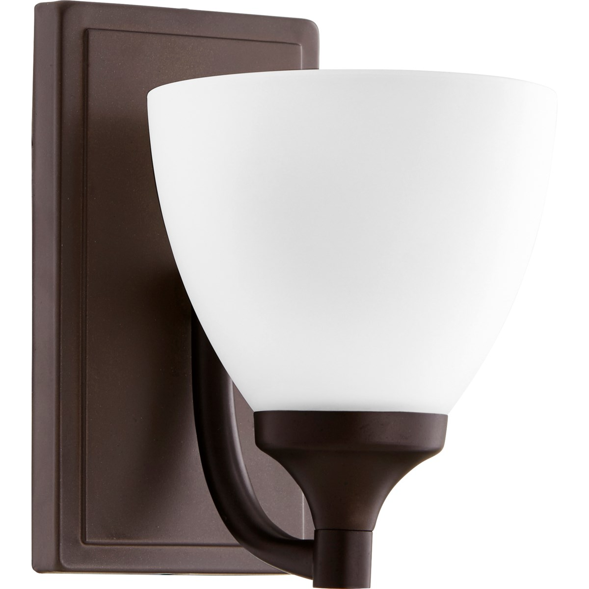 Enclave 1 Light Transitional Oiled Bronze Wall Sconce