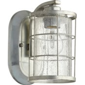 Ellis 1 Light Transitional Tumbled Steel Wall Sconce
