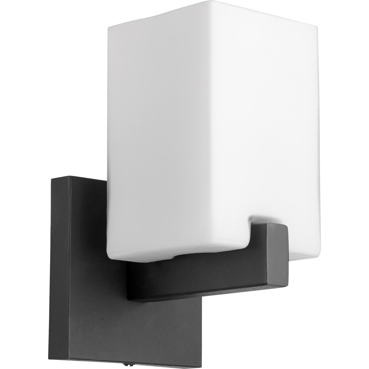Modus 1 Light Modern and Contemporary Black Wall Sconce