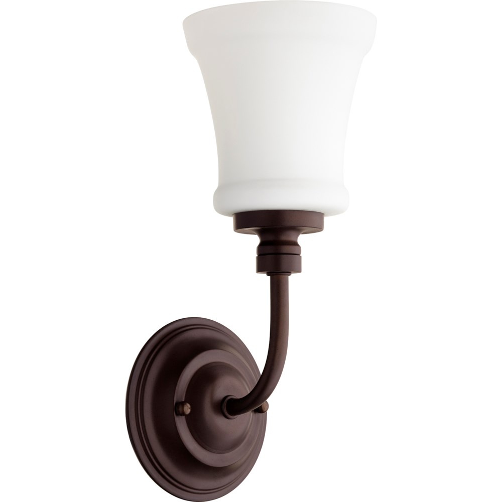 Rossington 1 Light Transitional Oiled Bronze Wall Sconce