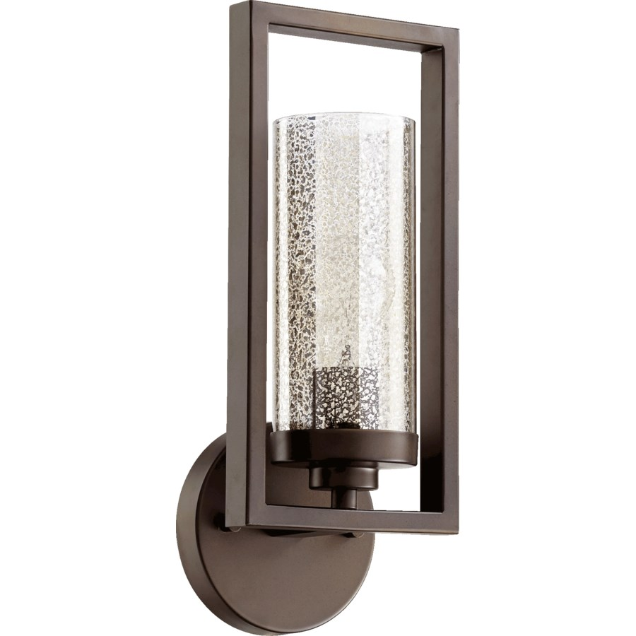 Julian 1 Light Transitional Oiled Bronze Wall Sconce