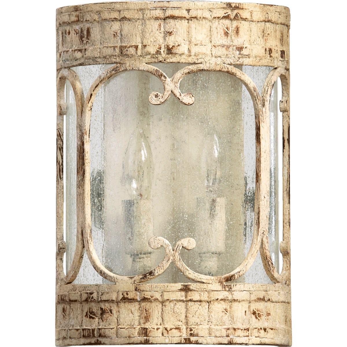 Florence 2 Light Traditional Persian White Wall Sconce