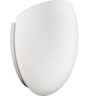 1 Light Modern and Contemporary Satin Nickel Wall Sconce
