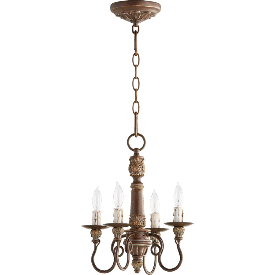 Salento 4 Light Vintage Copper Traditional Chandelier