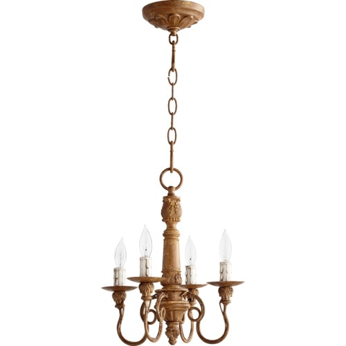 Salento 4 Light French Umber Traditional Chandelier