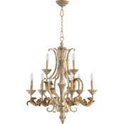 Florence 9 Light Persian White  Traditional Chandelier