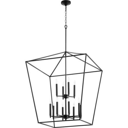 Gabriel 12 Light Black Pendant