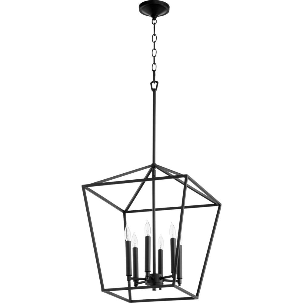 Gabriel 6 Light Black Pendant