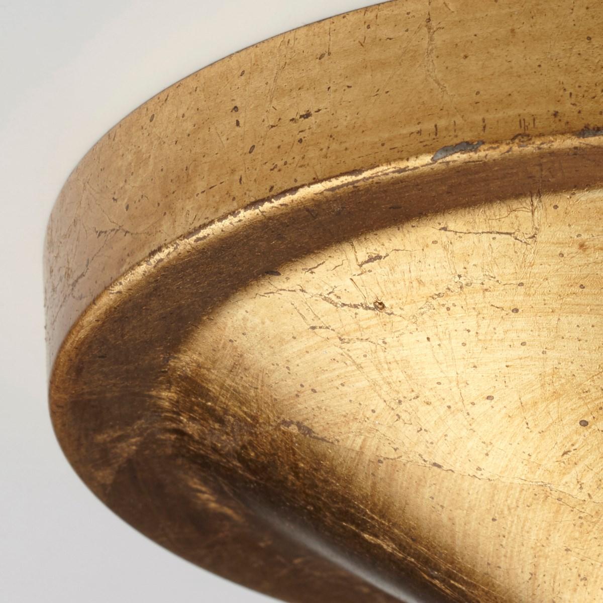 Gabriel 8 Light Gold Leaf Pendant