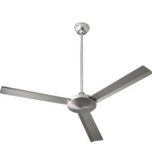 Aerovon 52-in  Satin Nickel  Ceiling Fan