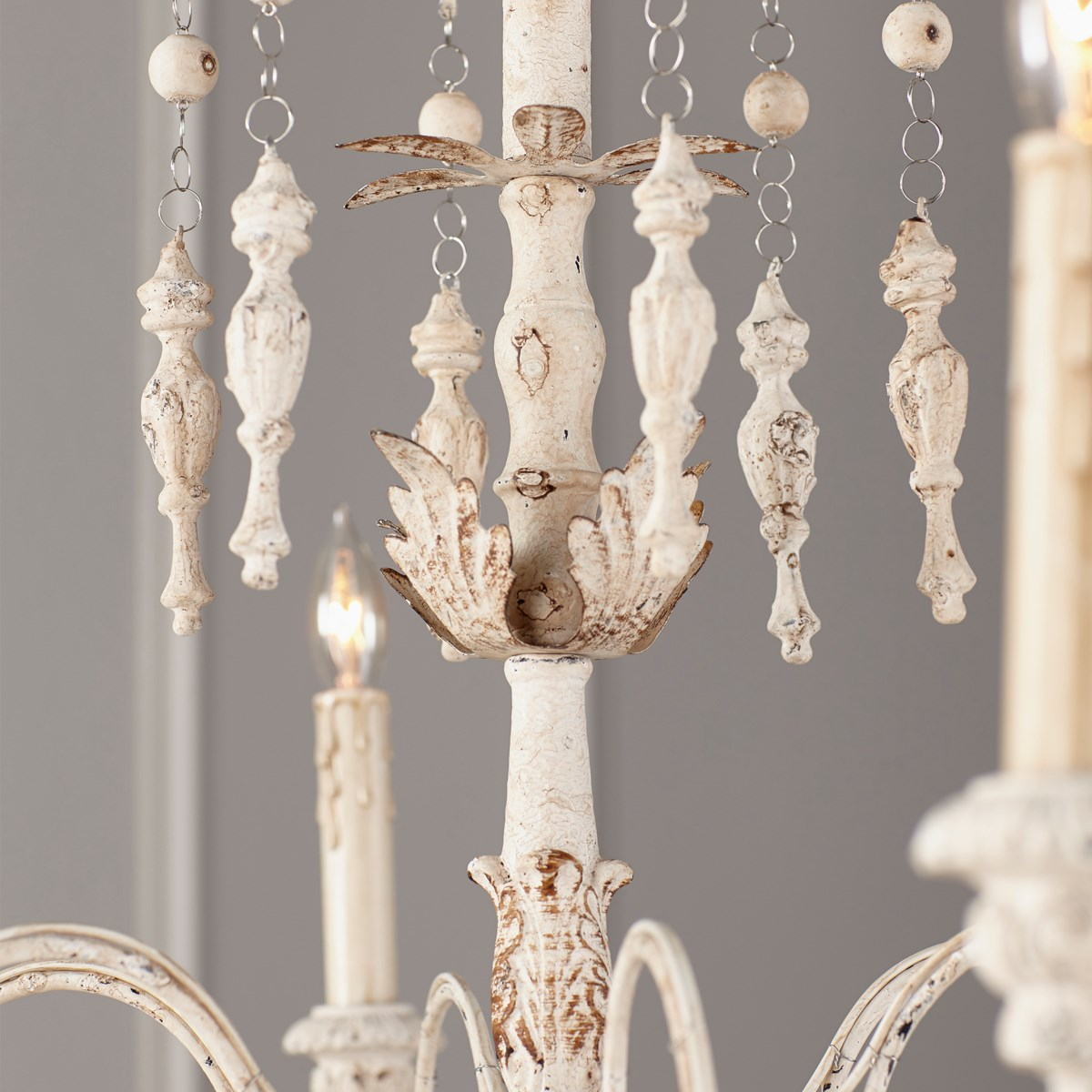 Salento 6 Light Persian White  Traditional Chandelier