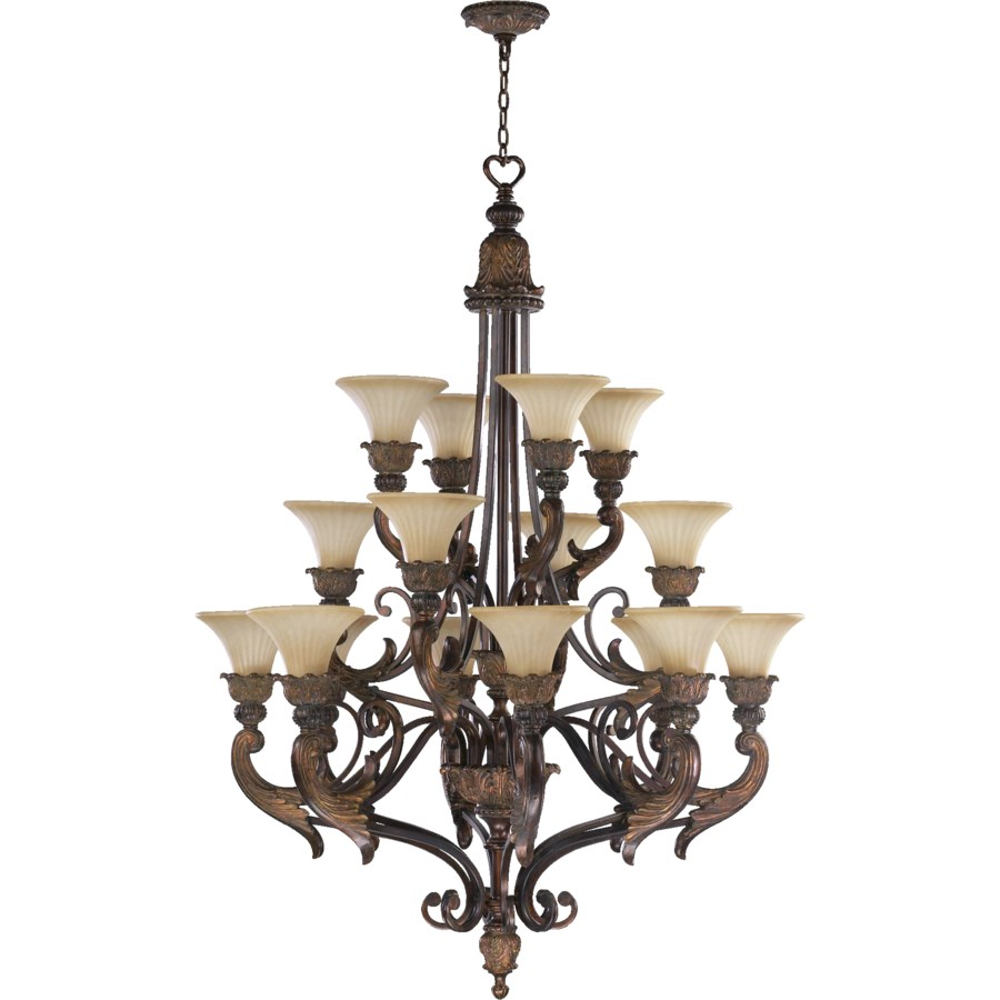 MADELEINE 16 Light  Corsican Gold  Traditional Chandelier