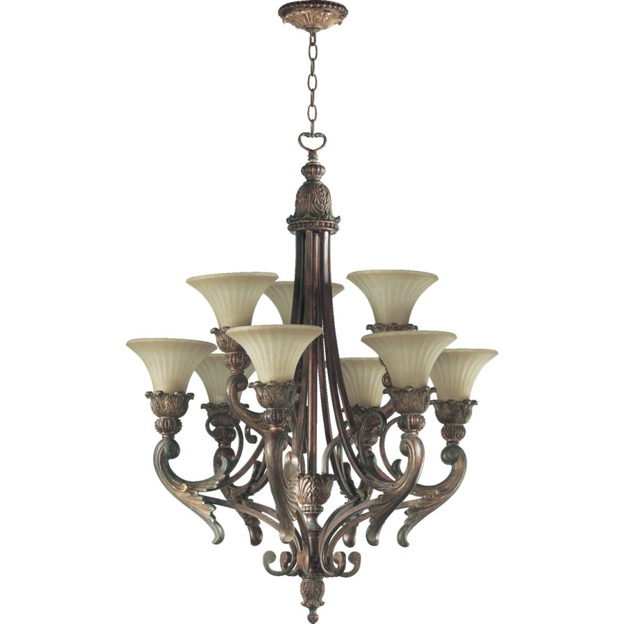 MADELEINE 9 Light Corsican Gold  Traditional Chandelier