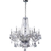 Bohemian Katerina 12 Light  Chrome  Traditional Chandelier