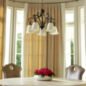 Bryant 5 Light Traditional Oiled Bronze Chandelier