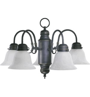 5 Light Traditional Old World Chandelier