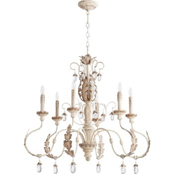 Venice   Persian White  Transitional Chandelier