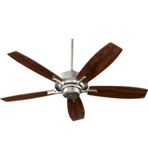 SOHO 52-in 5 Blade Satin Nickel Soft Contemporary Ceiling Fan