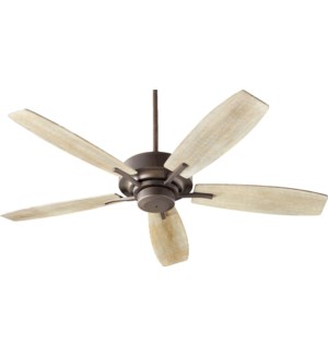 SOHO 52-in 5 Blade Oiled Bronze Transitional Ceiling Fan
