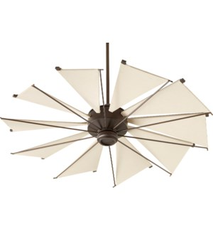 Mykonos 52-in 10 Blade Oiled Bronze Transitional Ceiling Fan