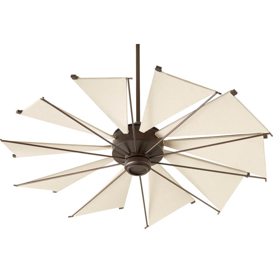 Mykonos 52-in 10 Blade Oiled Bronze Transitional Ceiling Fan