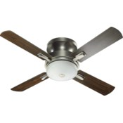 Davenport 52-in 4 Blade Antique Silver Transitional Ceiling Fan