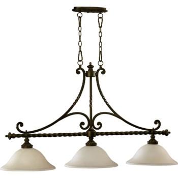 Alameda 3 Light Traditional Oiled Bronze  Linear Pendant