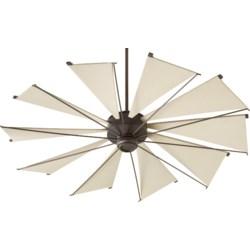 Mykonos 60-in 10 Blade Oiled Bronze Transitional Ceiling Fan