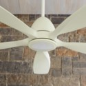 Holt 56-in 5 Blade Studio White Modern and Contemporary Ceiling Fan