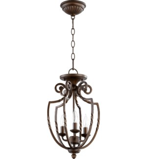 Tribeca 10.5-in Semi-Flush Mount Oiled Bronze