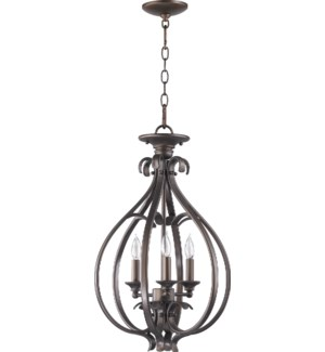 Randolph 15-in Semi-Flush Mount Oiled Bronze