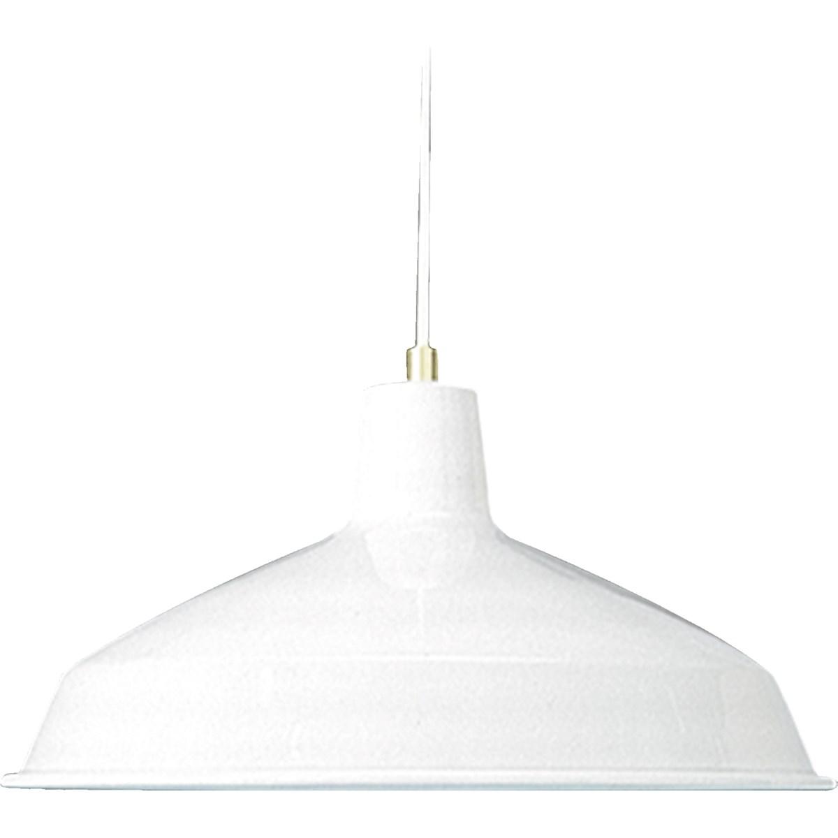 Hood White Traditional Pendant