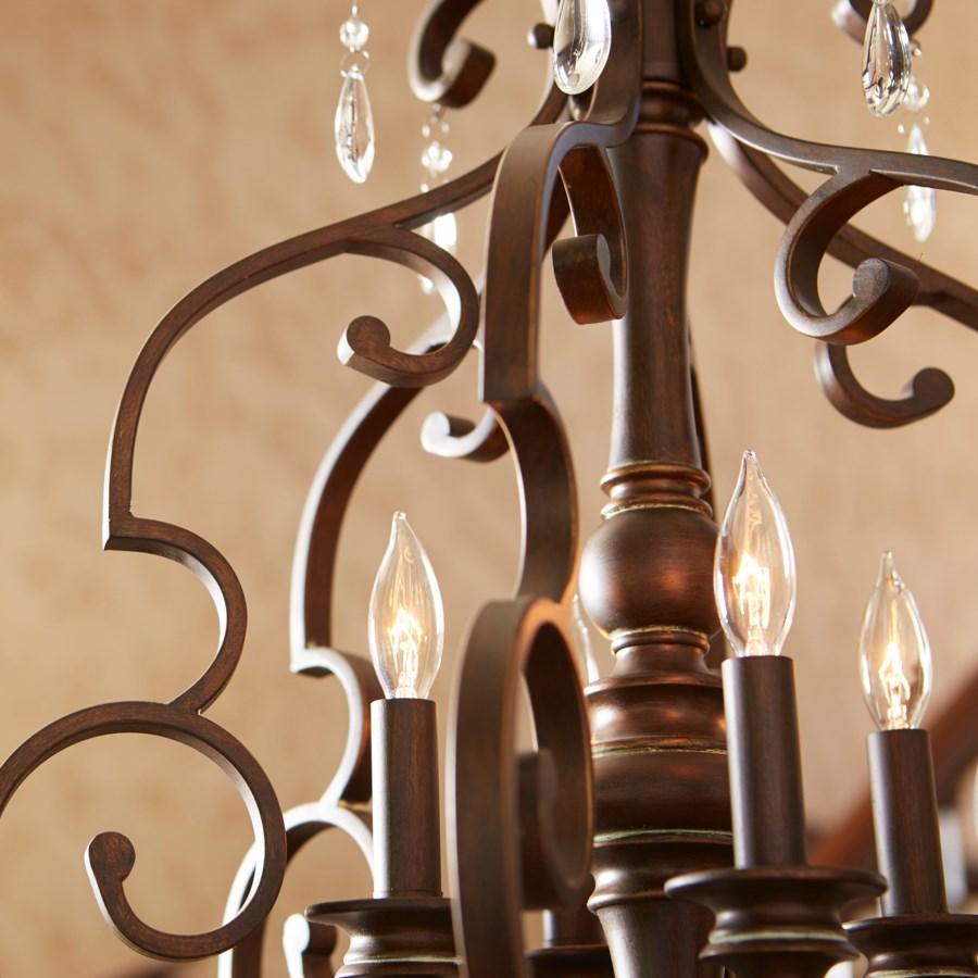 San Miguel 4 Light Vintage Copper Pendant
