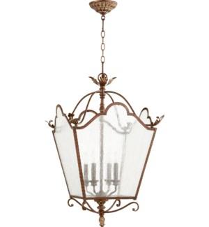 Salento 4 Light Vintage Copper Pendant