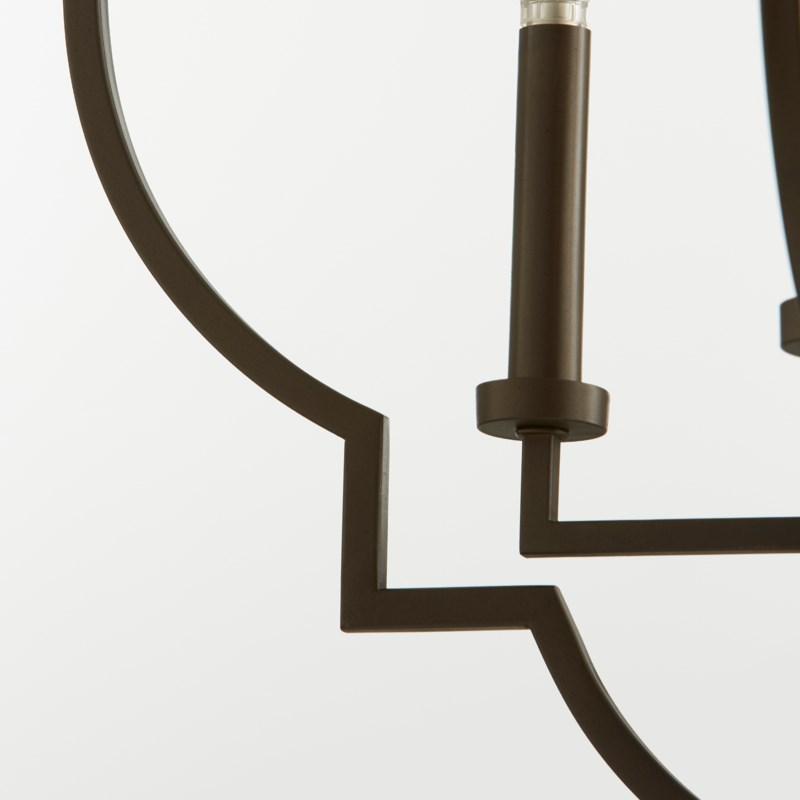 Dublin Oiled Bronze Transitional Pendant