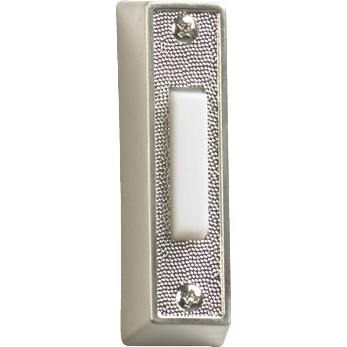 PLASTIC DOOR BUTTON - STN